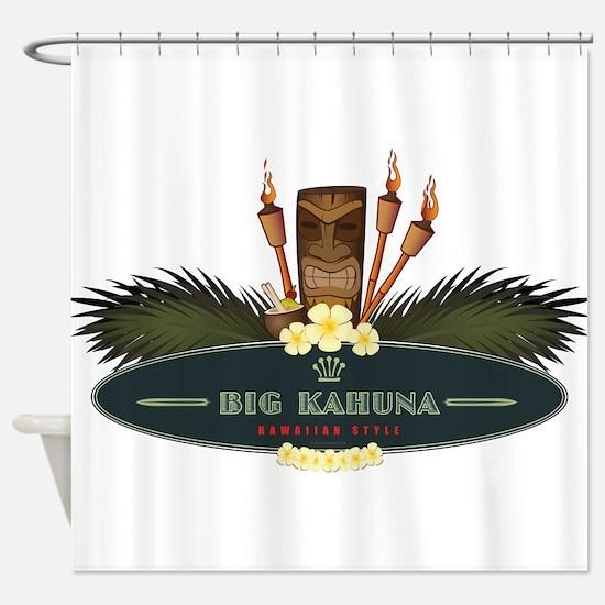 Big Kahuna Tiki Shower Curtain