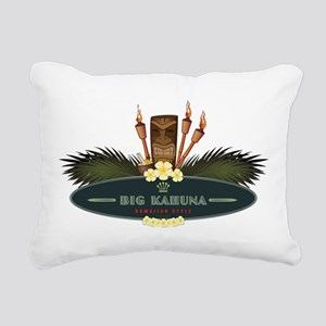 Big Kahuna Tiki Rectangular Canvas Pillow