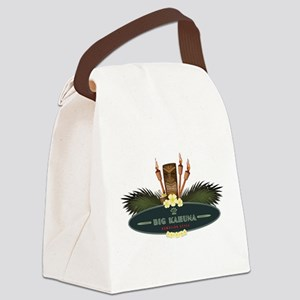 Big Kahuna Tiki Canvas Lunch Bag