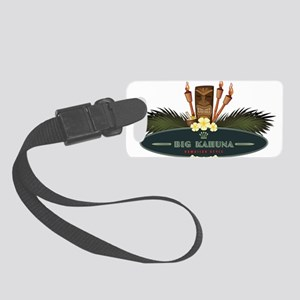 Big Kahuna Tiki Small Luggage Tag