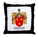 Sutherland Coat of Arms Throw Pillow
