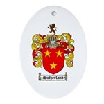 Sutherland Coat of Arms Oval Ornament