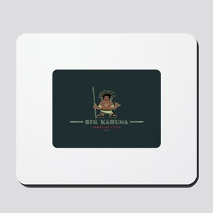 Big Kahuna with Figure Mousepad