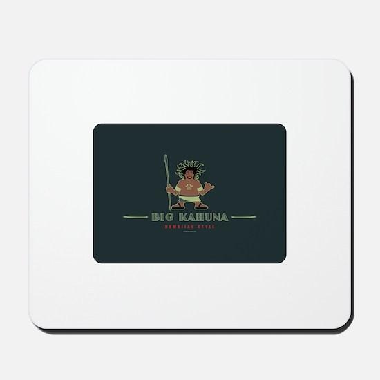 Big Kahuna with Figure Mousepad