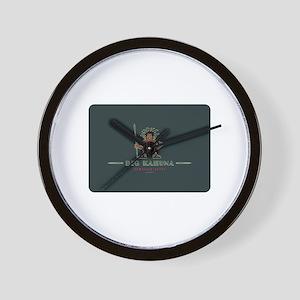 Big Kahuna with Figure Wall Clock