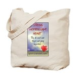 Strong Women Have Heart Tote Bag