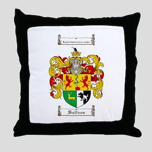 Sullivan Coat of Arms Throw Pillow