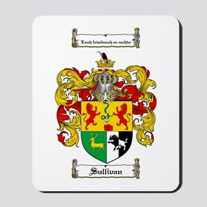 Sullivan Coat of Arms Mousepad