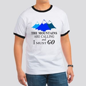 The Mountains are Calling T-Shirt