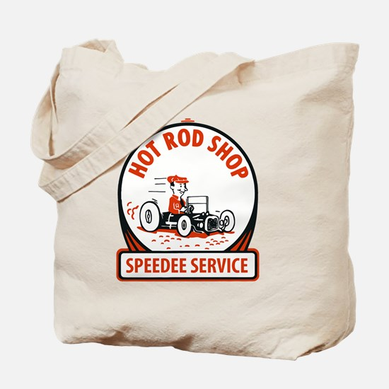 Funny Hot rod Tote Bag