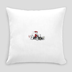 Hot Rod Cartoon Design Everyday Pillow