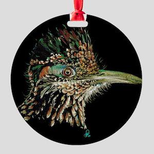 Greater Roadrunner Round Ornament