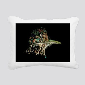 Greater Roadrunner Rectangular Canvas Pillow