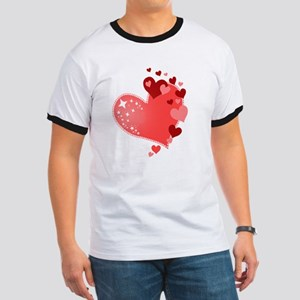Valentines Day Hearts T-Shirt