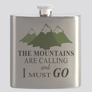 The Mountains are Calling Flask