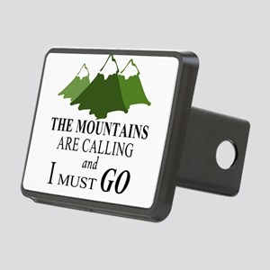 The Mountains are Calling Rectangular Hitch Cover