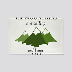 The Mountains are Calling Magnets
