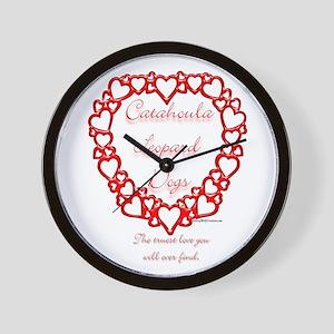 Catahoula True Wall Clock