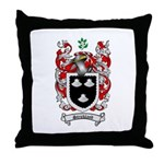 Strickland Coat of Arms Throw Pillow