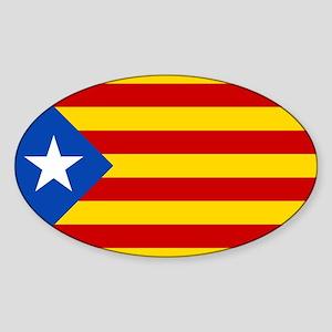 Estelada Blava - Bandera independentista C Sticker