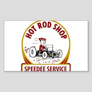 Hot Rod Shop Sticker