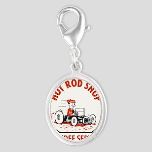Hot Rod Shop Cartoon Charms
