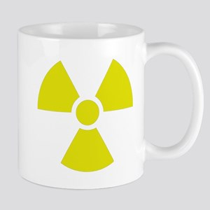 Radiation warning sign Mugs