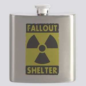 fall out shelter sign Flask