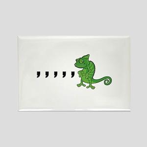 Comma Chameleon Magnets
