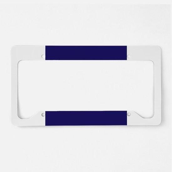 Resist License Plate Holder