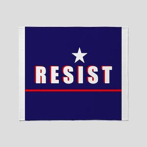 Resist Throw Blanket