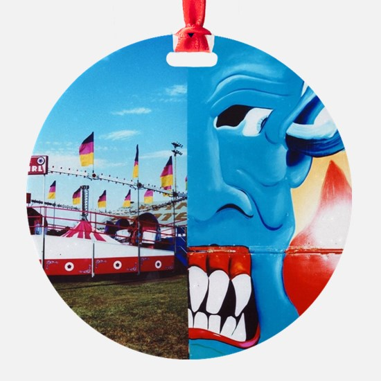 Carnival Face Ornament