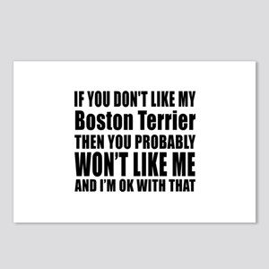 You Do Not Like My Boston Postcards (Package of 8)