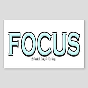 Focus Rectangle Sticker