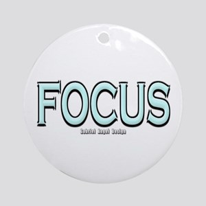 Focus Ornament (Round)