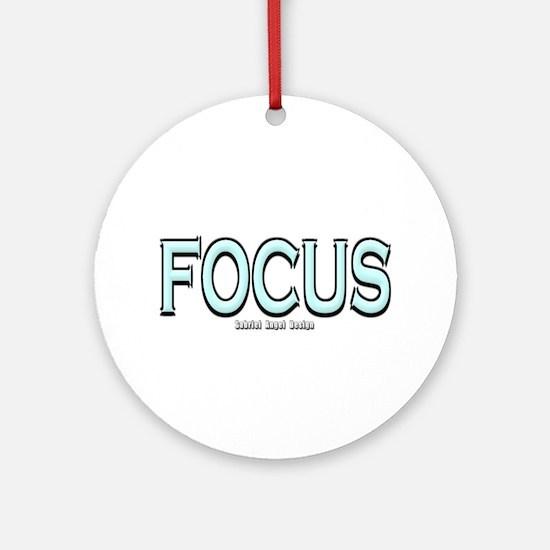 Focus Ornament (Round)