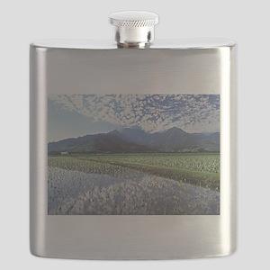 Hanalei Taro Fields Flask