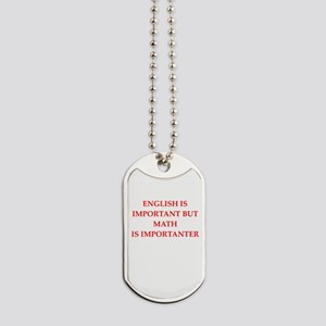 math Dog Tags