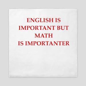 math Queen Duvet
