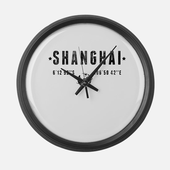 Shanghai Large Wall Clock