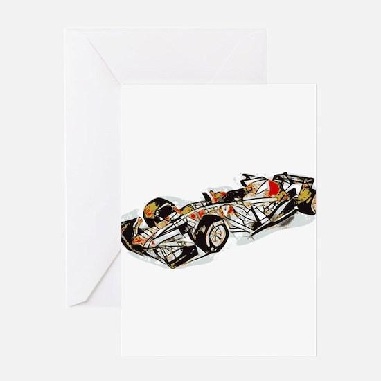 Race Car Greeting Cards