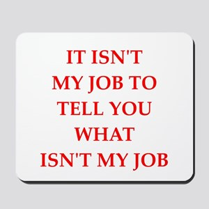 job Mousepad