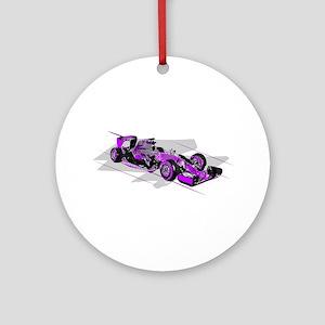 F 1 Round Ornament