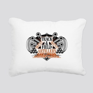 shot put artillery Rectangular Canvas Pillow