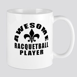 Awesome Racquetball Player Designs Mug