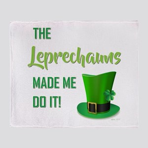 THE LEPRECHAUNS... Throw Blanket