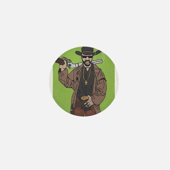 Ghetto Cowboy Mini Button