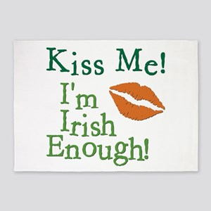 KISS ME! 5'x7'Area Rug