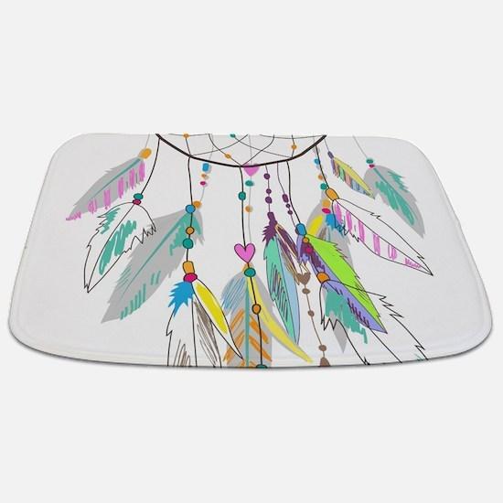 Dreamcatcher Feathers Bathmat