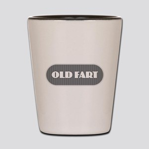 Old Fart - Gray Shot Glass